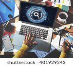 search screen browsing data... | Shutterstock . vector #401929243