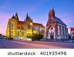 st. michael chapel and st.... | Shutterstock . vector #401935498