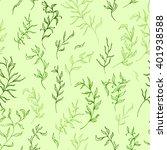 floral seamless pattern.... | Shutterstock . vector #401938588