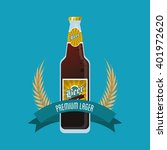 beer icon design   vector... | Shutterstock .eps vector #401972620