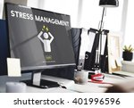 stress management tension... | Shutterstock . vector #401996596