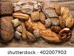 top view of assortment of... | Shutterstock . vector #402007903