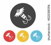 fishing bait icon | Shutterstock .eps vector #402038596