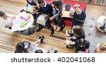 classmate educate friend... | Shutterstock . vector #402041068