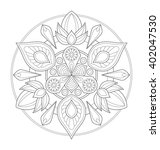 decorative mandala illustration ...   Shutterstock .eps vector #402047530