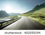 Road By The Sea  Lofoten Islan...