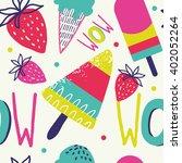 summer background pattern in... | Shutterstock .eps vector #402052264