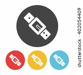 strap icon | Shutterstock .eps vector #402054409