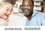 meeting sharing brainstorming... | Shutterstock . vector #402069829