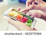 find vegetable juice recipe   Shutterstock . vector #402079384