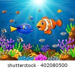 under the sea | Shutterstock .eps vector #402080500
