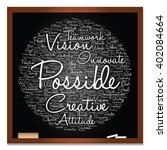 vector concept or conceptual... | Shutterstock .eps vector #402084664