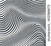 optical art opart striped wavy...   Shutterstock . vector #402088873