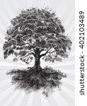 tree root | Shutterstock .eps vector #402103489