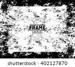grunge frame   abstract texture ... | Shutterstock .eps vector #402127870