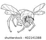 iron bee | Shutterstock .eps vector #402141388