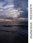 beautiful sunset   Shutterstock . vector #402142474