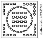 chain. different types of... | Shutterstock .eps vector #402146278