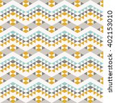 seamless pattern with abstract... | Shutterstock .eps vector #402153010