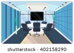 office interior in flat style....   Shutterstock .eps vector #402158290