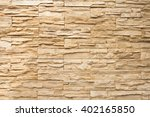 old brown bricks wall pattern... | Shutterstock . vector #402165850