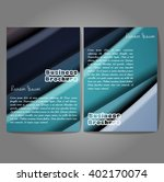 vector brochure template design ... | Shutterstock .eps vector #402170074