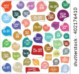 premium quality modern labels... | Shutterstock .eps vector #402176410