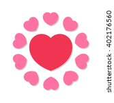 hearts icon. | Shutterstock .eps vector #402176560
