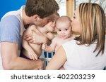 a closeup portrait of young... | Shutterstock . vector #402203239