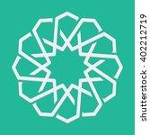 islamic or arabic motif  sacred ... | Shutterstock .eps vector #402212719