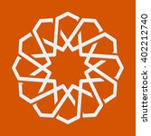 islamic or arabic motif  sacred ... | Shutterstock .eps vector #402212740