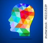 human head concept   great for... | Shutterstock . vector #402215239