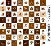 vector logo chocolate | Shutterstock .eps vector #402218824