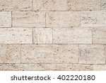travertine  seamless texture of ... | Shutterstock . vector #402220180