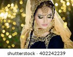 portrait of a beautiful female... | Shutterstock . vector #402242239