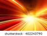 speed motion   Shutterstock . vector #402243790