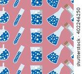 chemical seamless pattern ... | Shutterstock .eps vector #402246250