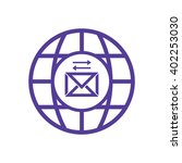 email symbol isolated icon ... | Shutterstock .eps vector #402253030