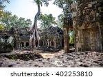 Angkor Wat Temple At Cambodia