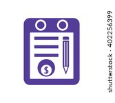 business graph and chart icon ... | Shutterstock .eps vector #402256399