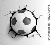 sport vector illustration with... | Shutterstock .eps vector #402272446