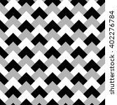 geometric grayscale pattern ... | Shutterstock .eps vector #402276784