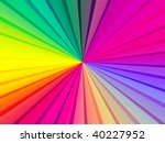 bright rainbow rays   Shutterstock . vector #40227952