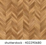 chevron natural parquet... | Shutterstock . vector #402290680