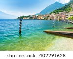 Landscape Of Lake Garda With...