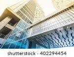 modern skyscrapers in shanghai  ...   Shutterstock . vector #402294454
