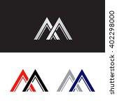 capital letter m in several...   Shutterstock .eps vector #402298000