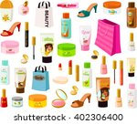vector illustration of various... | Shutterstock .eps vector #402306400