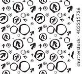 seamless black arrow pattern....