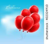 vector illustration balloons | Shutterstock .eps vector #402324910